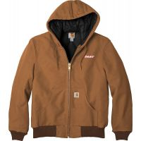 20-CTTSJ140, Medium, Carhartt Brown, Left Chest, Dart.