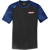 20-YST371, X-Small, Blk/Royal, Left Chest, Dart.
