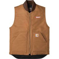 20-CTV01, Small, Carhartt Brown, Left Chest, Dart.