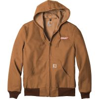 20-CTJ131, Small, Carhartt Brown, Left Chest, Dart.