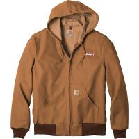 20-CTTJ131, Large, Carhartt Brown, Left Chest, Dart.