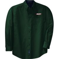 20-TLS608, Large Tall, Dark Green, Left Chest, Dart.